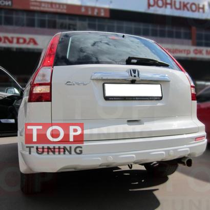 Задние светодиодные вставки на Honda CR-V 3