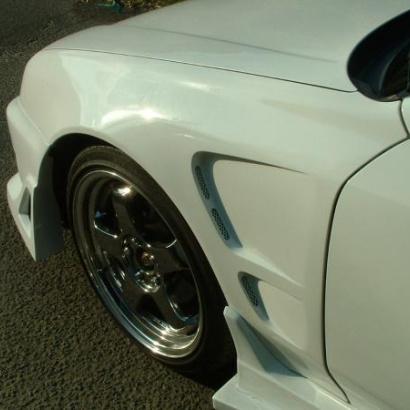 Крылья передние - обвес на Honda Prelude 5