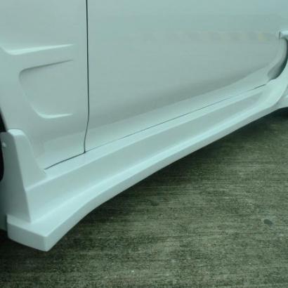 Накладки на пороги - обвес на Honda Prelude 5