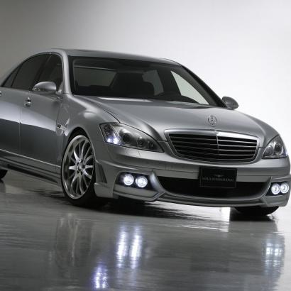 Комплект - обвес на Mercedes S-Class W221