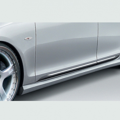 Накладка на пороги - обвес на Lexus GS 3