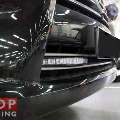 Дневные ходовые огни на Lexus LX570 UJR 200