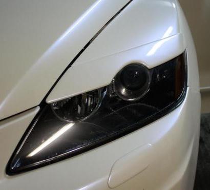 Реснички передней оптики-  на Mazda CX-7