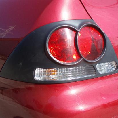Накладки на задние фонари  на Mitsubishi Lancer 9 (IX)
