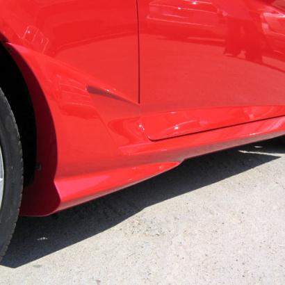 Накладки на пороги - Обвес на Hyundai Tiburon Coupe GK