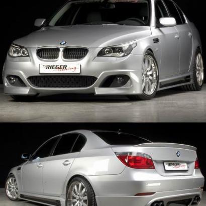 Обвес Rieger на BMW 5 E60, E61, M5