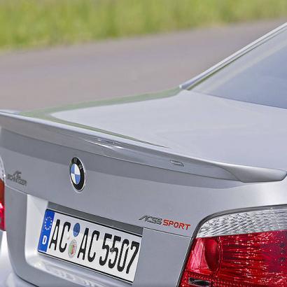 Спойлер крышки багажника на BMW 5 E60, E61, M5