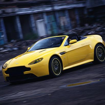 Накладки на пороги на Aston Martin Vantage Coupe