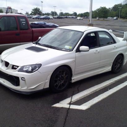 Обвес на Subaru Impreza WRX GD