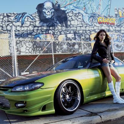 Передний бампер - Обвес на Nissan Silvia S15