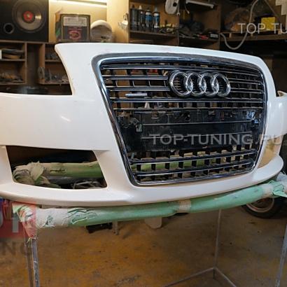 Передний бампер - Обвес на Audi TT 8N