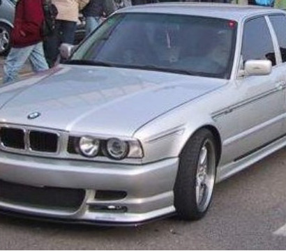 Передний бампер - Обвес на BMW 5 E34