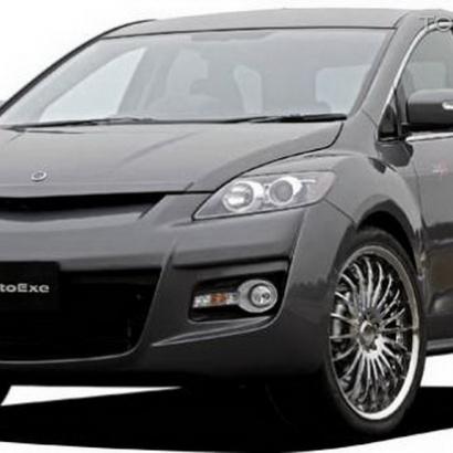 Передний бампер - Обвес на Mazda CX-7