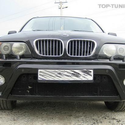 Передний бампер - Обвес на BMW X5 E53