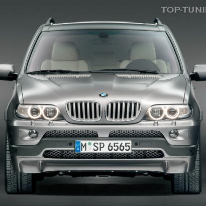 Передняя юбка - Обвес на BMW X5 E53