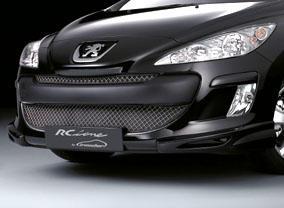 Накладки переднего бампера - обвес на Peugeot 308 I