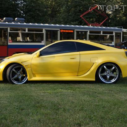 Пороги - Обвес APR New на Toyota Celica T23