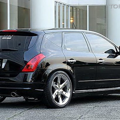 Пороги - Обвес на Nissan Murano 1 (Z50)