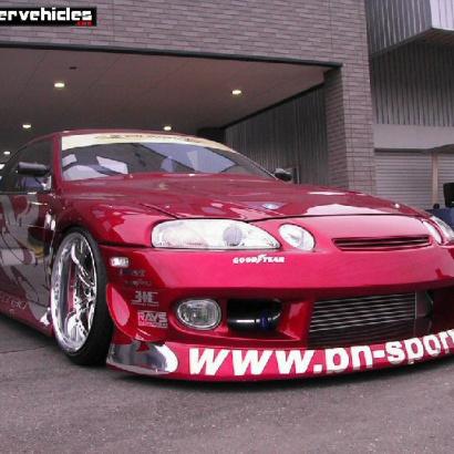 Пороги - Обвес на Toyota Soarer III (3)