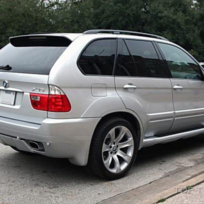 Расширители арок - тюнинг на BMW X5 E53