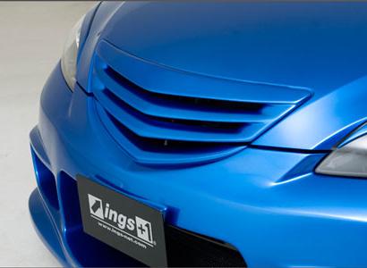 Решетка радиатора без значка на Mazda 3 BK