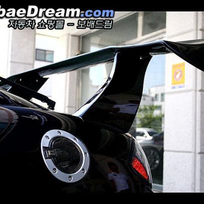 Спойлер - антикрыло Big Mad  на Hyundai Tiburon Coupe GK