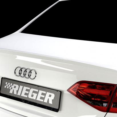 Спойлер на крышку багажника на Audi A4 B8