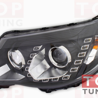Передняя тюнинг-оптика на Subaru Forester SH
