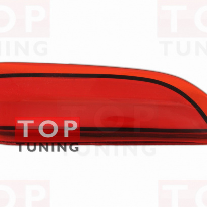 Светодиодные вставки в задний бампер на Toyota Corolla E160