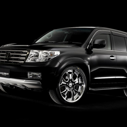 Расширители арок на Toyota Land Cruiser 200