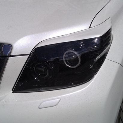 Реснички передней оптики на Toyota Land Cruiser Prado 150
