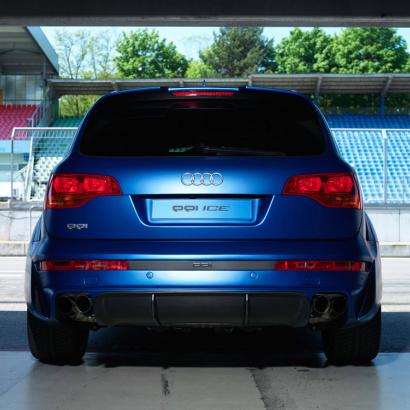 Задний бампер - обвес на Audi Q7