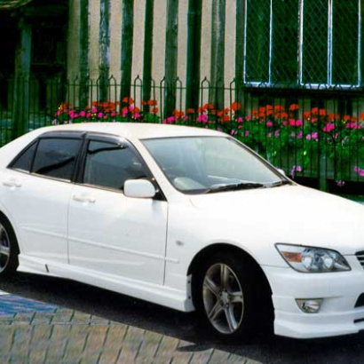 Передняя юбка на Toyota Altezza is200