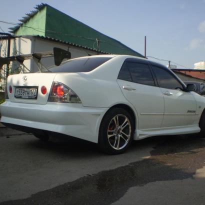 Задний бампер - Обвес на Toyota Altezza is200