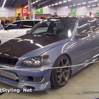 Передний бампер - Обвес Hippo Sleek на Toyota Altezza is200