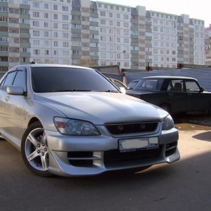 Передний бампер - Обвес на Toyota Altezza is200