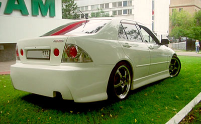 Задний бампер - Обвес Top Gun на Toyota Altezza is200