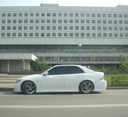 Пороги - Обвес на Toyota Altezza is200