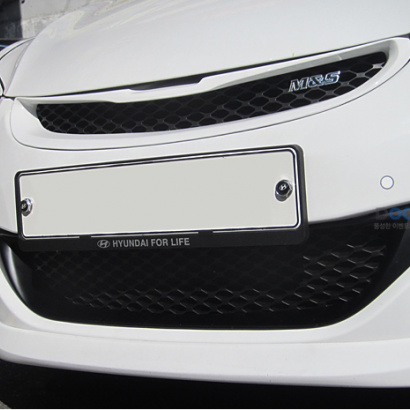 Решетка радиатора нижняя на Hyundai Elantra 5 (Avante MD)