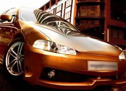Передний бампер - Обвес на Honda Civic  EG