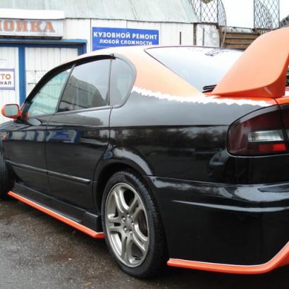 Задний бампер - Обвес на Subaru Legacy B4