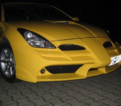 Передний бампер - Обвес F60 на Toyota Celica T23