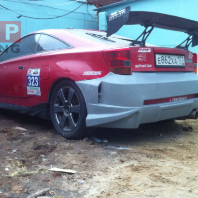 Задний бампер - Обвес на Toyota Celica T23
