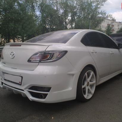Задний бампер - Обвес на Mazda 6 GH
