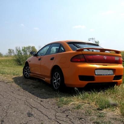 Задний бампер - Обвес на Mazda 323F BA