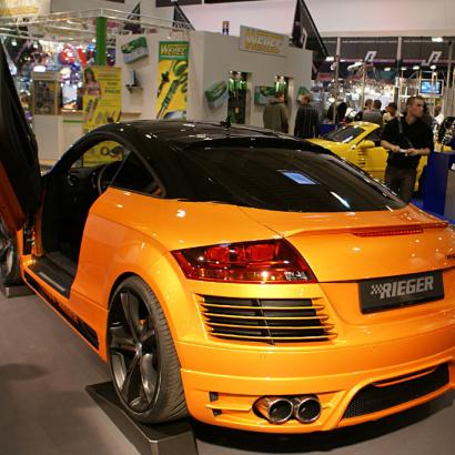 Задний бампер - Обвес на Audi TT 8J