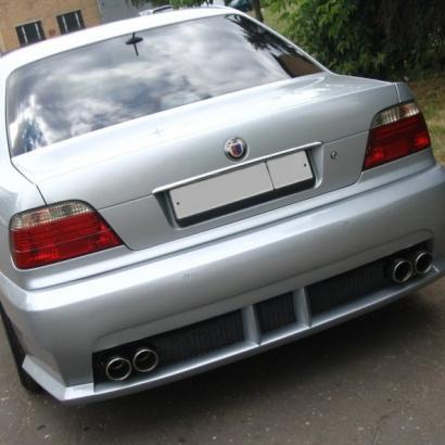 Задний бампер - Обвес на BMW 7 E38