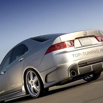 Задний бампер - Обвес на Honda Accord 7