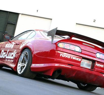 Задний бампер - Обвес на Toyota Supra 80