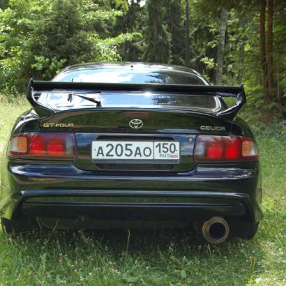 Задний бампер - Обвес на Toyota Celica ST205